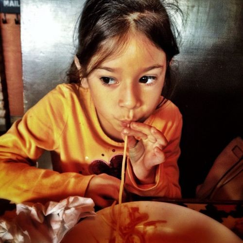 Spaghetti lunch. #spaghetti #food #mcallen #people #children #mamamias People Food Children Spaghetti Mcallen Mamamias