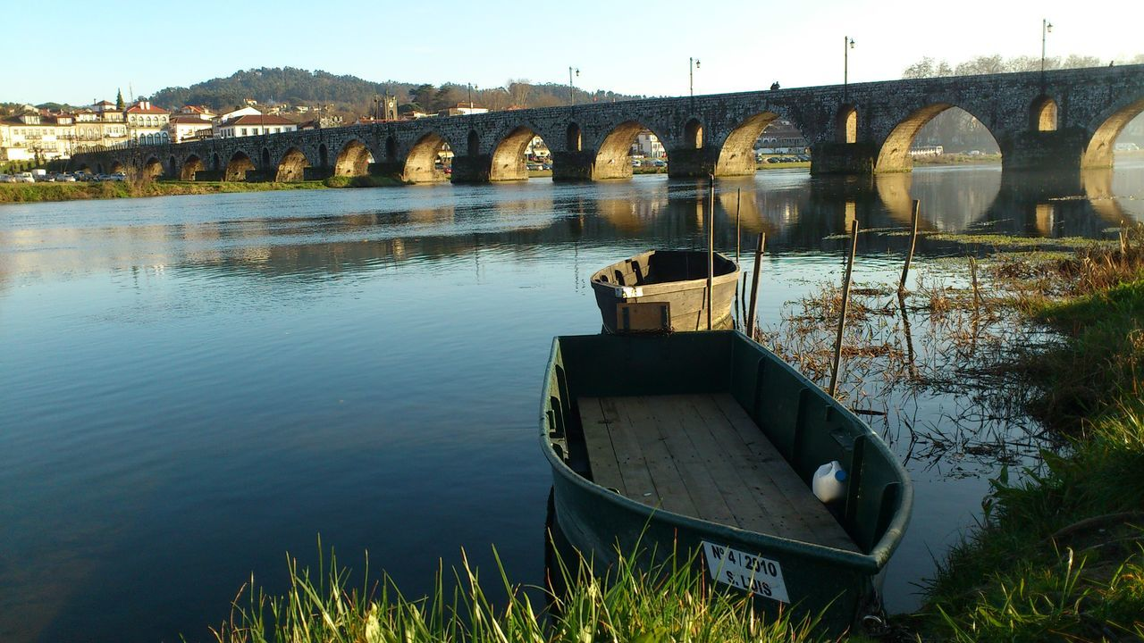 River Lima boat, Portugal