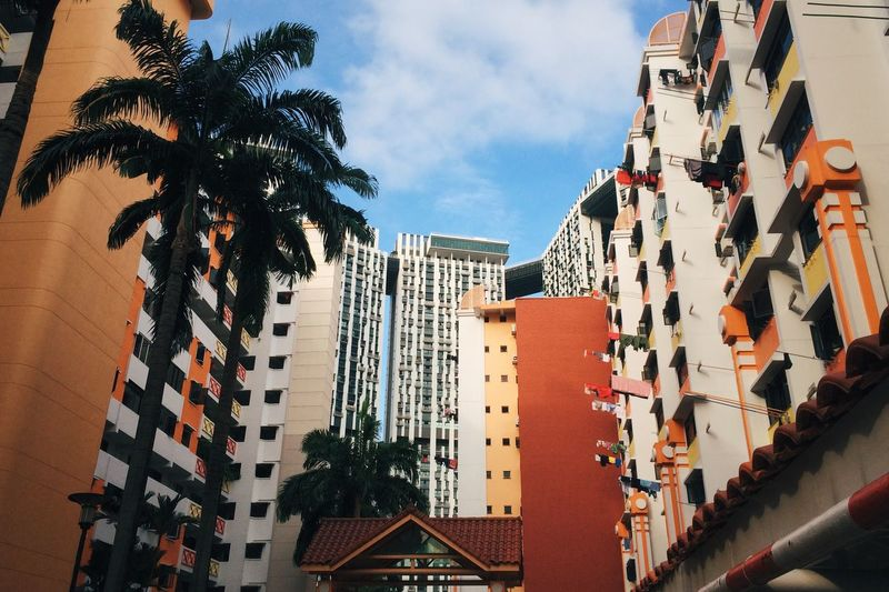 My Country In A Photo Public Housing Architecture Urban Landscape Clouds And Sky Singapore Cityscapes Uniquely Singapore