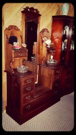 Antique Dressing Vanity Budoir