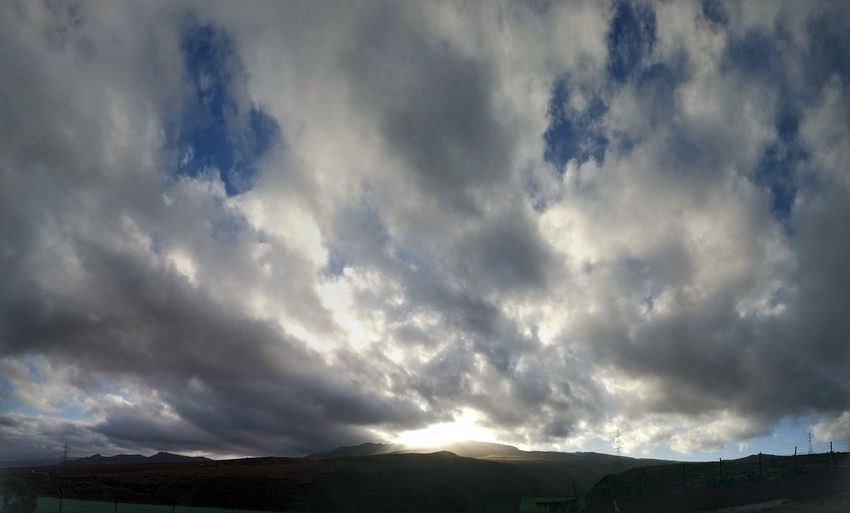 Thunderstorm Cyclone Storm Cloud Storm Dramatic Sky Cloud - Sky Landscape Sky