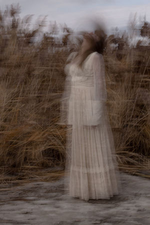 Long Hair One Woman Only Ethereal Motion Mystery The Great Salt Lake Utah Pr0ject_soul Pr0ject_uno Igw_mystica