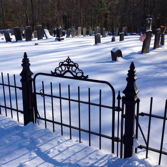 When Hell freezes over... the gate might look like this. Mother Nature Is My Jailer... And My Mistress Rest In Peace Peace And Love On A Higher Plane