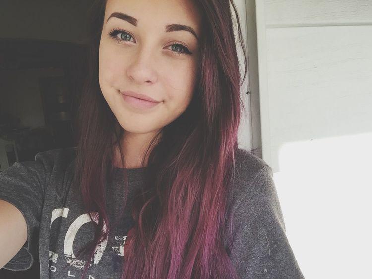 Hair Selfie Girl