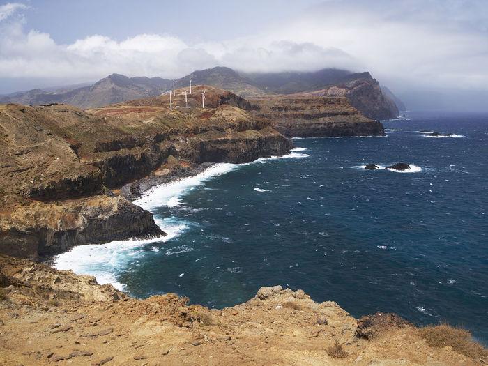 Atlantic Landmark Landscape Ocean Portugal Sea Tourism Touristic Travel
