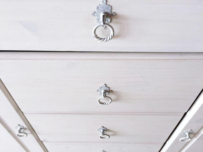 White cupboard
