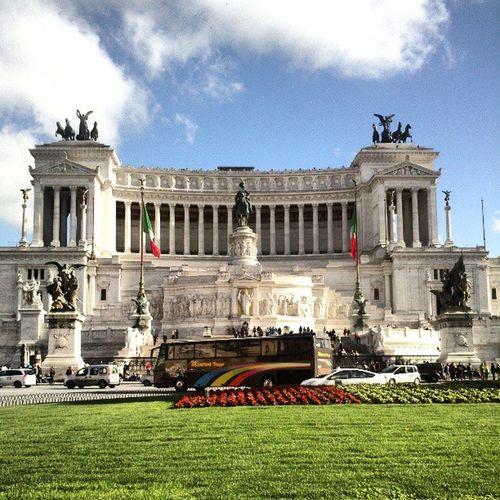 Italia Roma Vacaciones Jard ín nuves cielo