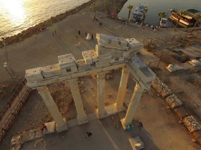 Side Ancient History Tourism Antalya