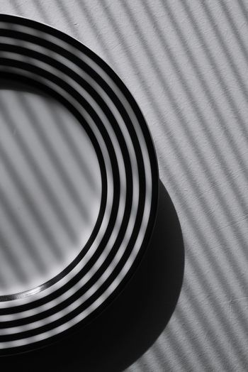 Pattern Design Pattern, Texture, Shape And Form Design Plate Shadows & Lights Shadow Blackandwhite Black And White Blackandwhite Photography Still Life Concentric Backgrounds Pattern Close-up Repetition Geometric Shape Focus On Shadow Full Frame My Best Photo