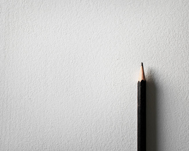 Art Black And White Close-up Concept Conceptual Indoors  No People Object One Paper Pencil Pencil Shavings Sketch Style Writing Instrument