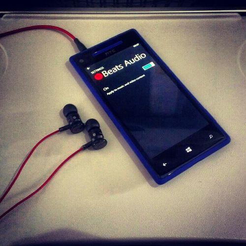 Beats, beats, baby. #HTC #Beats #HTC8X #WindowsPhone8 BEATS HTC Windowsphone8 Htc8x