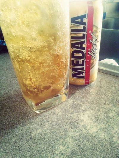 MedallaLight Puertorricanbeer In My Mouf Enjoying Life cerveza puertoriqueña♡