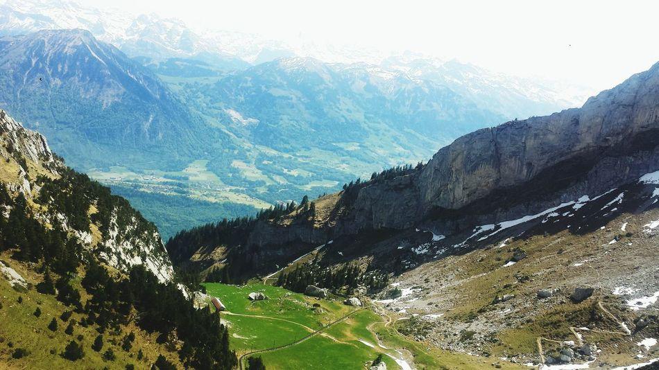 Alpenpanorama Alpen Pilatus Schweiz