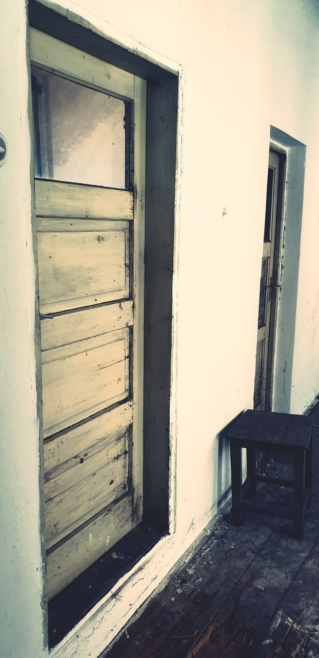 door, entrance, wood - material, architecture, house, building, old, no people, closed, built structure, building exterior, abandoned, open, seat, day, wall - building feature, outdoors, window, empty