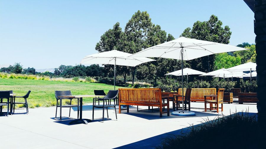 Patio Patiofurniture Outdoors Outside Sunny Day Summer Winery Wine Tasting