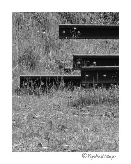 Outdoors No People Poladesiero Black And White Collection  Black And White Collection  Black And White Collection  Blackandwhitephotography Rails