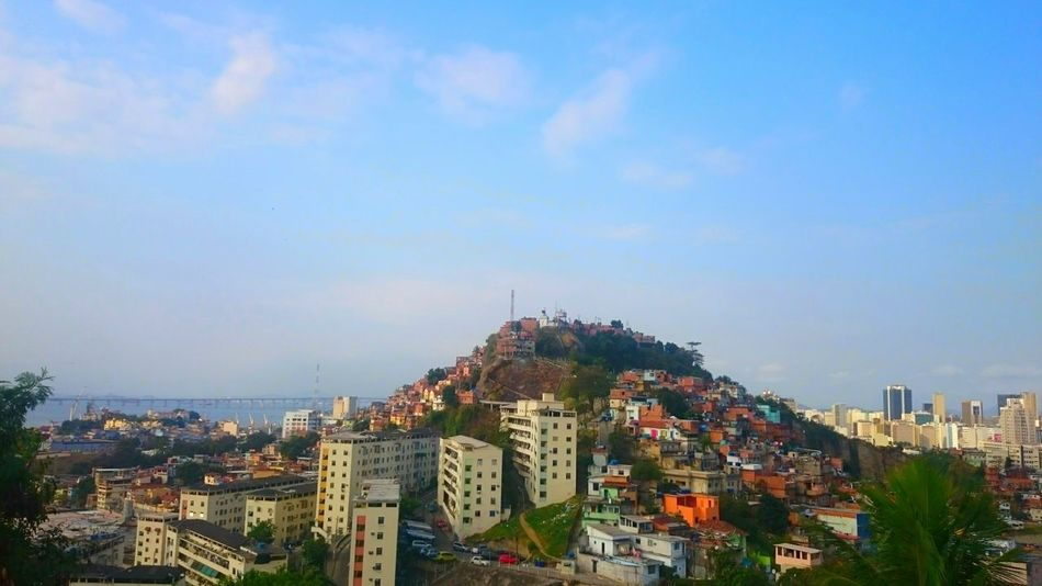 Cityscape Sky Urban Skyline Outdoors City Travel Destinations Brazil Favela Rio De Janeiro Urbanscape Cityscape City Life Architecture_collection Adventures City View  Mountains Mountain View Cityscapes Great Outdoors Built Structure Streetphotography Horizon Over Land Travel Photography Modern City Skyline
