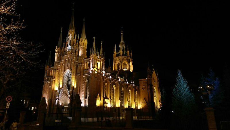 Очень красивый собор...