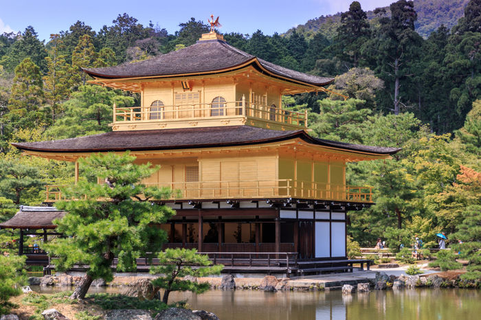kinkakuji temple of japan Architectural Feature Architecture Building Exterior Built Structure Culture Day Exterior Green Color Historic History In Front Of Japan Temple Japantemple Kinkaku-ji Golden Pavilion Kinkaku-ji Temple Kinkakuji Kinkakuji Temple Kinkakuji Temple Of Japan Majestic Mountain No People Place Of Worship Sky Tourist Resort Tree
