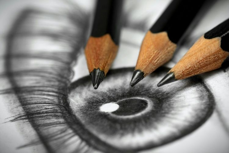 Pencil Drawing Eye Drawing Pencilart