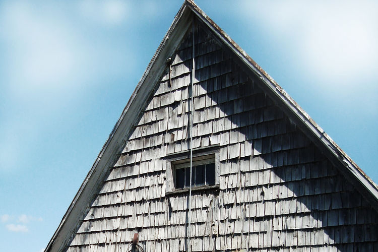 Architecture Building Exterior Built Structure Day History Innovation Low Angle View No People Old-fashioned Outdoors Sky Triangle Shape