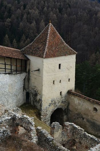 Romania Fortress Fortress Wall Fortress In Europe Râșnov Brasov Romania Fortified Walls Citadel Old Architecture Photography Archeological Complex Archeology Historic