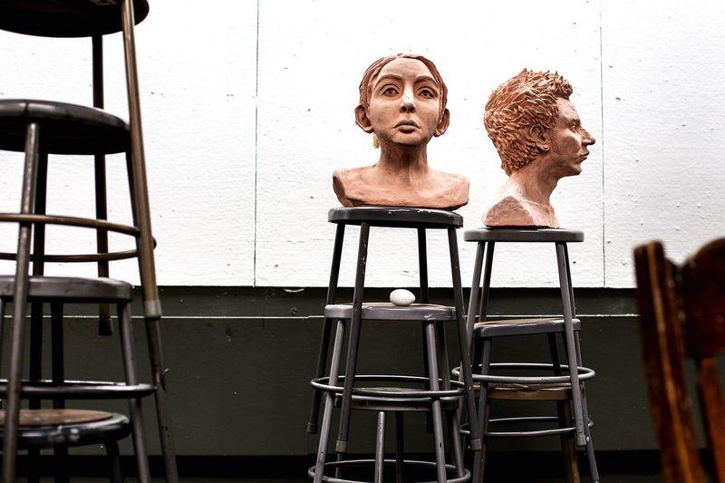 Art In A Classroom Check This Out Artist art Portraits Sculpture DSLR