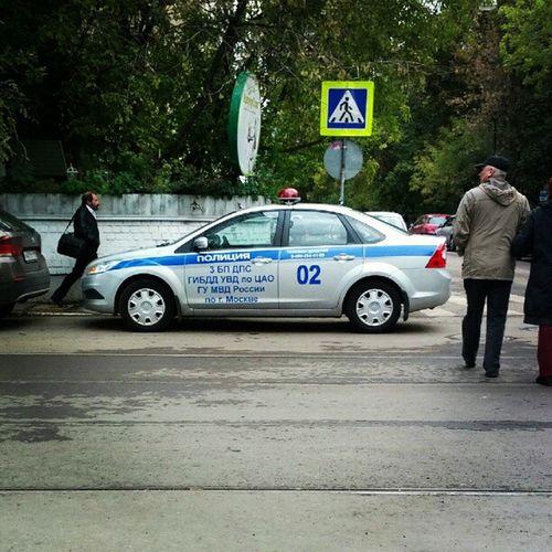 Police Ford Focus Violation о чем можно говорить, когда а/м ДПС стоит на пешеходном переходе. форд фокус а3130