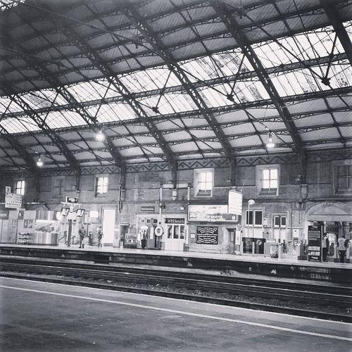 Train Station Platform Trains Comuting Transport
