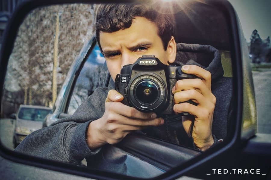 Reflection Photography Themes Photographing Holding Photographer Young Adult Car Portrait Photoshop Photography In Motion Canonphotography Canon50D Photooftheday Photography Lightroom