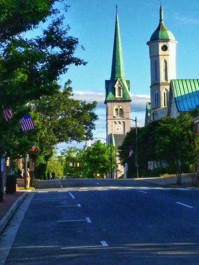 Fredericksburg,va Downtown Morning Light