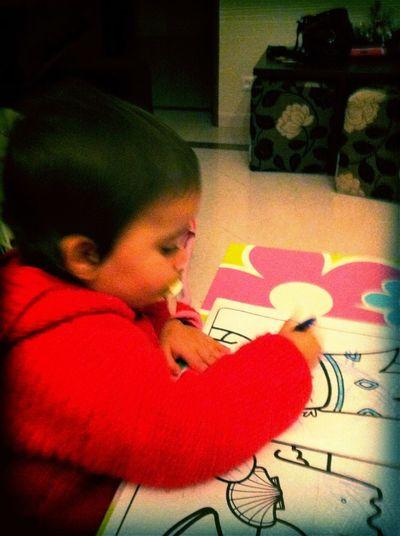 A minha filha é uma verdadeira artista! in Cacem A Minha Filha é Uma Verdadeira Artista!