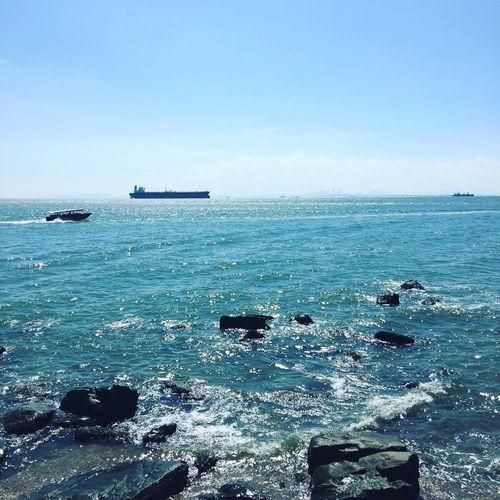 淨係想吹住海風聽住浪聲咩都唔做😌 Relaxing Enjoying Life Blue Sky