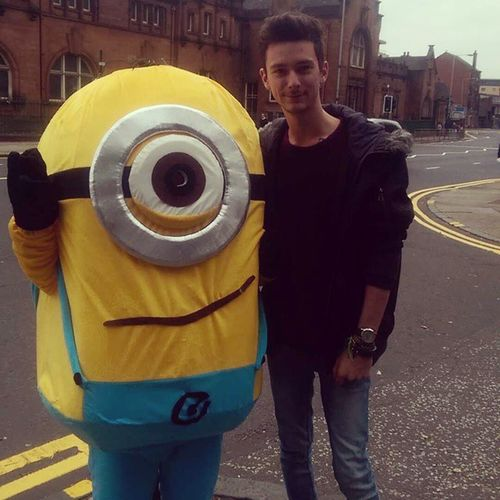 Met my idol Despicableme