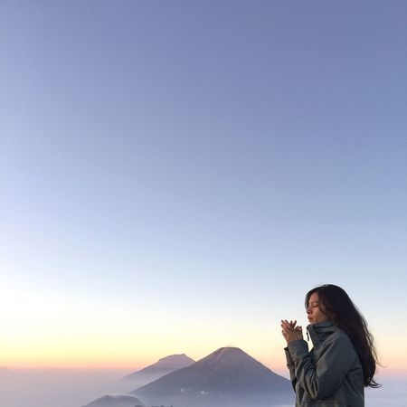 from 2.565 mdpl, Mt. Prau, Dieng, Wonosobo Adventure Nature Mountain Prau Dieng Wonosobo INDONESIA Explore First Eyeem Photo Camp Sky Beauty In Nature Beautiful Beautiful Nature