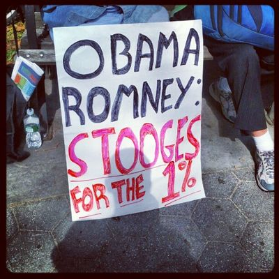 Obama Romney S16 OWS Occupytownsq S17