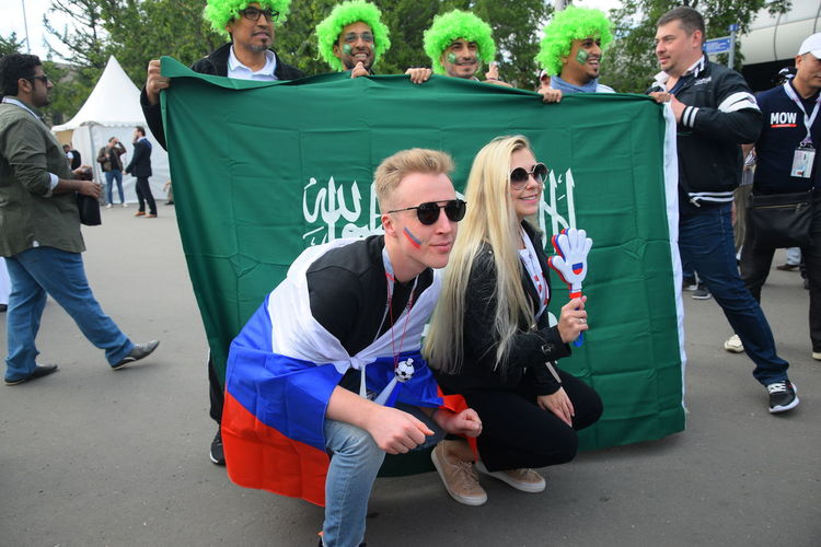 Contact me : roman@alyabev.com Fifa Football Adult Crowd Day Fan Fans Fashion Fifa18 Fifa2018 Full Length Glasses Green Color Group Of People Leisure Activity Lifestyles Men Outdoors People Real People Sunglasses Togetherness Women Young Adult Young Men