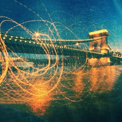 Chain Bridge of Budapest (10 second exposure with a coupe seconds of camera shake Instagood Igscout Instaaaaah Instagramhub Jj_forum The_guild Primeshots Photosfans Hungary Gmy Budapest Instamillion Photooftheday Chainbridge GCS Gf_architecture Igers Jj_forum_0501 IGDaily Igersbudapest Jj  Gf_family