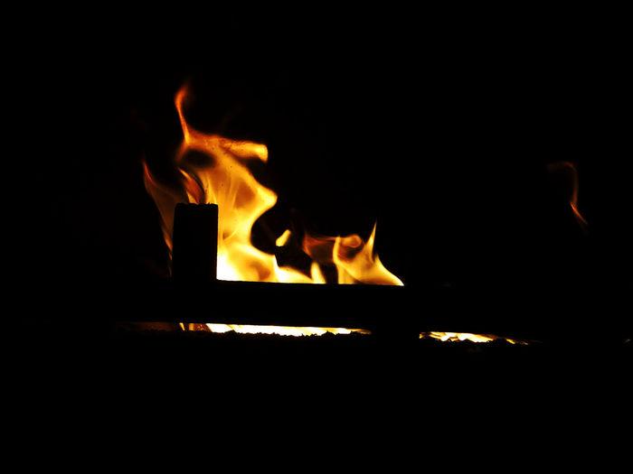 Fire Berlin Kamin Flames