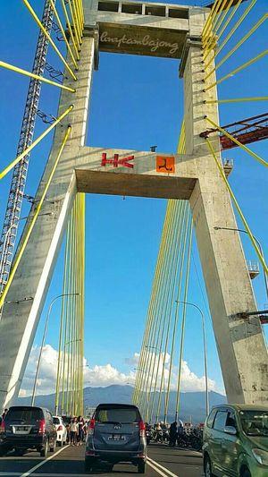 Soekarno Bridge...the new icon of Manado