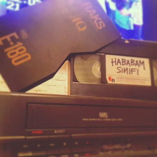 90lar Nostalji VHS Videokaset Raks