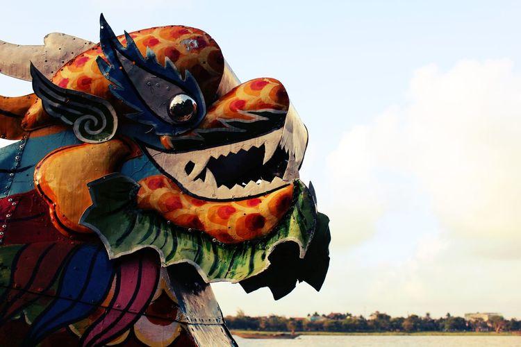 Close-up Dragon