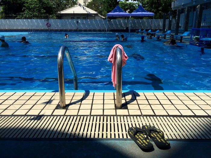 Swimming Pool Water Outdoors Leisure Activity Swimming Day Summer ☀ Summertime Sunny Day Enjoying Life Cozytime