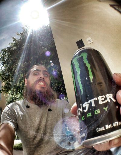 Drinkinnnn Alfredbass Lethalfan Monster Energy Lens Flare
