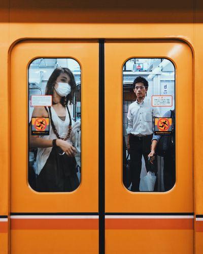 @itchban / itchban.com Metro Tokyo Candid Female Landscape Street Photography Subway Train The Street Photographer - 2018 EyeEm Awards