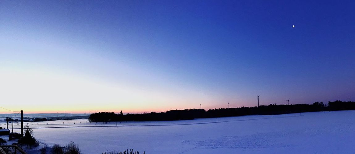 Snow ❄ Clear Sky Nature