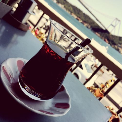 Breakfast at Bosphorus Hisar Sunny Saturday Turkish Tea
