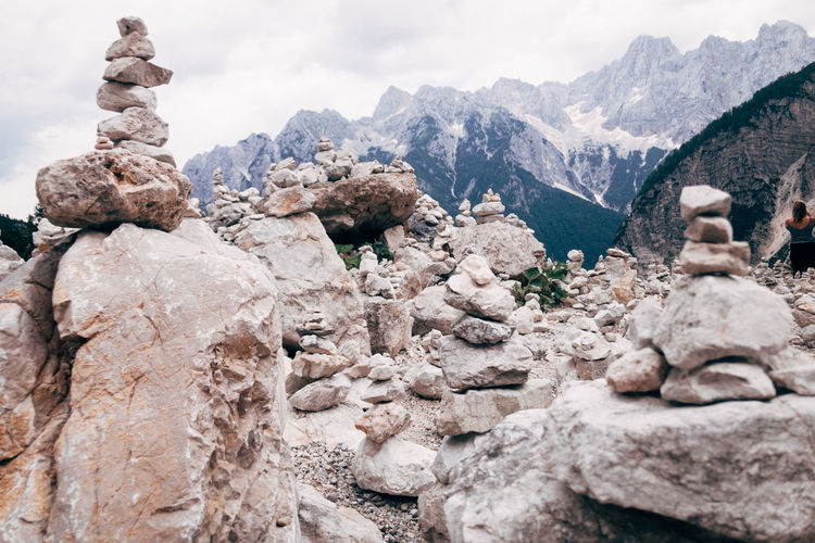 Balkanroadtrip Architecture Beauty In Nature Cloud - Sky Day Environment Formation Landscape Mountain Mountain Peak Mountain Range Nature No People Outdoors Rock Rock - Object Rock Formation Scenics - Nature Sky Solid Tranquil Scene Tranquility Travel