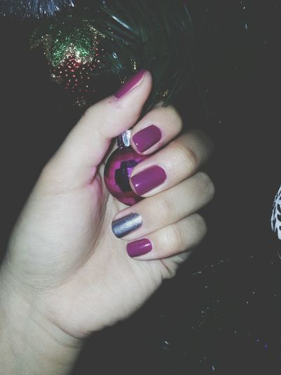 маникюр Beautiful Violet And Lighting Grey ♡♡♡♡