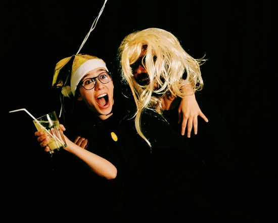 Blondes have more fun. 5 Ways Of Seeing Music Hanging Black Background Fragility Indoors  EyeEm Christmas Party 2016 Wine Moments Leisure Activity Celebration White Wine Alcohol Happiness Carnival Crowds and Details